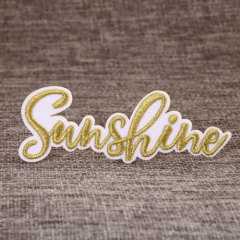 Sunshine Custom Embroidered Patches