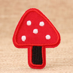 Mushroom Custom Embroidered Patches