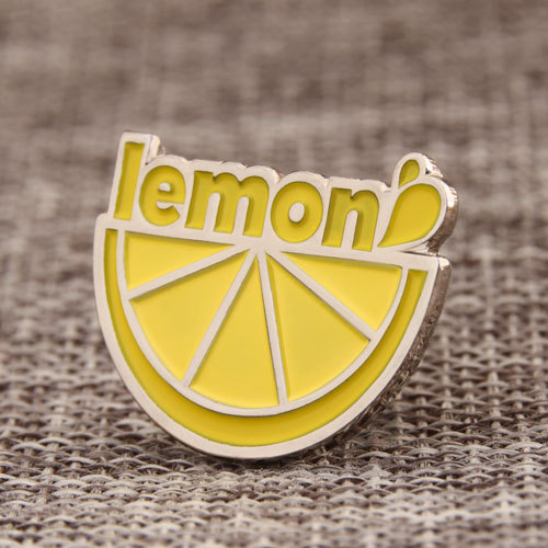 Lemon lapel pins