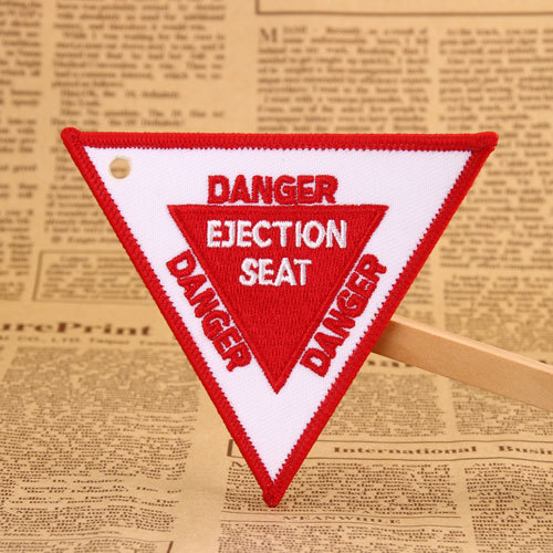 Danger Custom Embroidered Patches