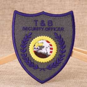 T&B Security Officer Custom Patches