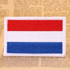 Dutch Flag Custom Made Patches