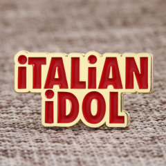 Italian idol lapel pins
