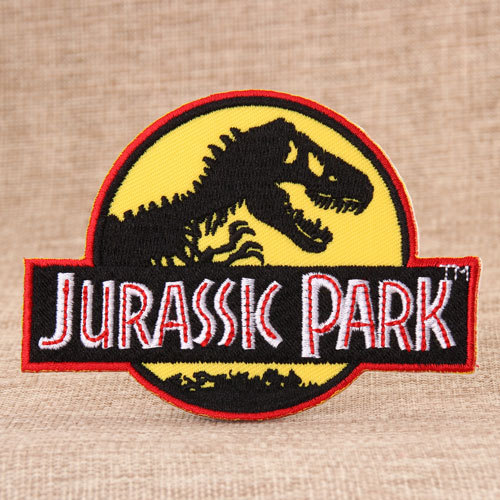 Jurassic Park Embroidered Patches