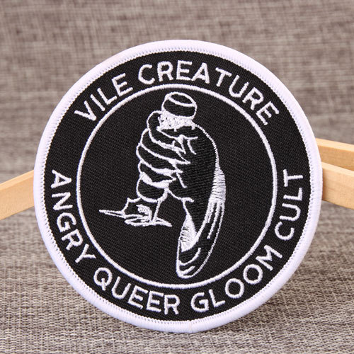 Vice Creature Embroidered Patches