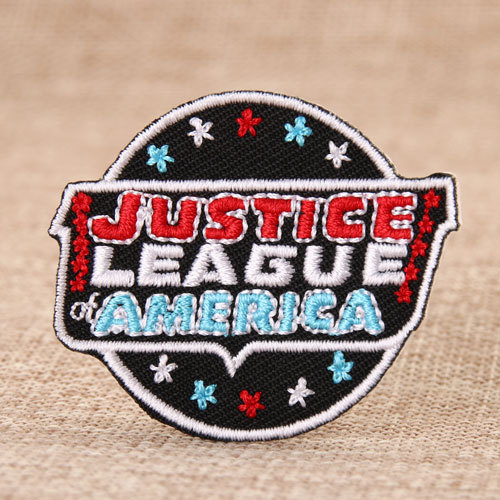 Justice League Custom Made Patches