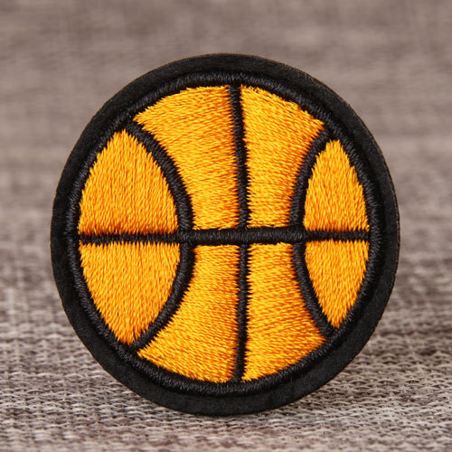Basketball Embroidered Patches