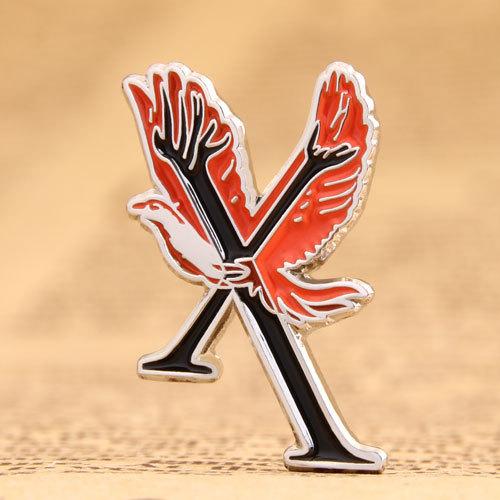 Logo custom lapel pins