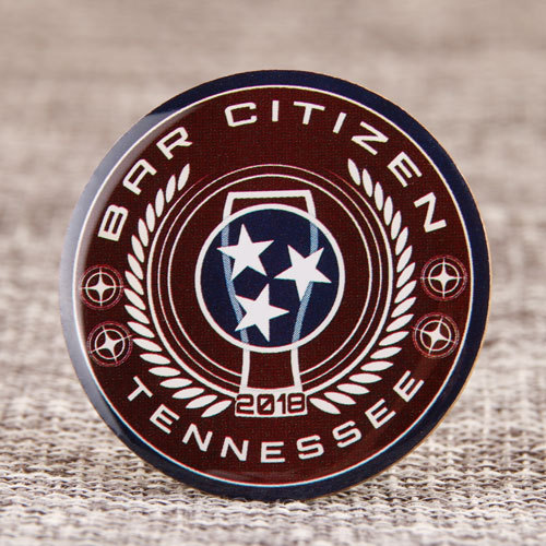 Bar citizen lapel pins