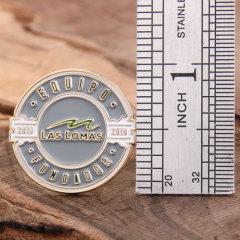 Equipo fundador lapel pins