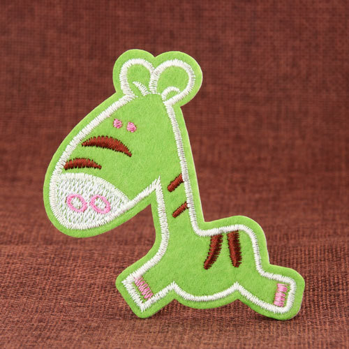 Green Horse Cheap Patches
