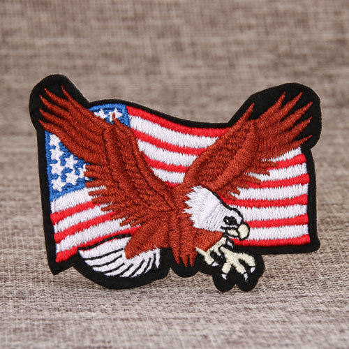 Eagle Embroidered Patches