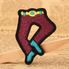 Pants Embroidered Patches
