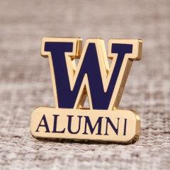 Alumni association lapel pins