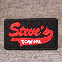 Steve Embroidered Patches