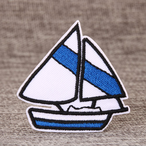 Boat Embroidered Patches
