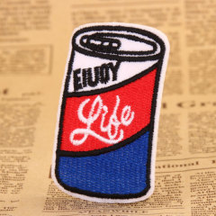 Cola Embroidered Patches
