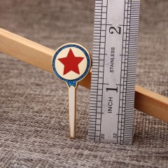 Lapel pins of Magic wand award