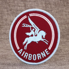 Airborne Custom Embroidered Patches