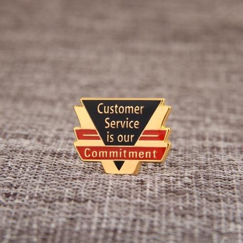Service custom pins