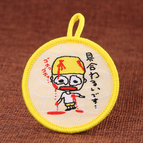 Cartoon Custom Embroidered Patches