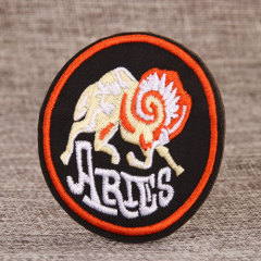 ARIES Embroidered Patches