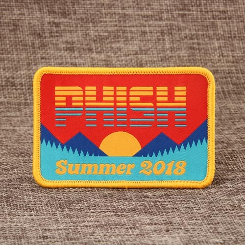 Phish Embroidered Patches
