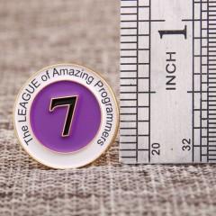SEVEN Custom Pins