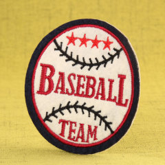 Baseball Embroidered Patches