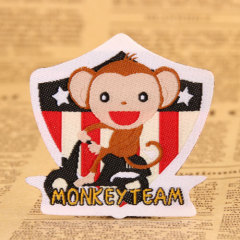 Monkey Embroidered Patches
