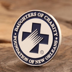 Lapel pins for daughters of charity