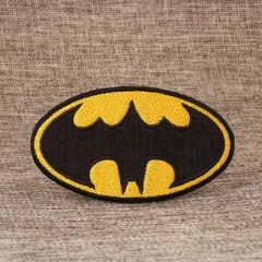 Oval Embroidered Patches