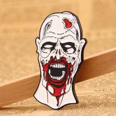 Zombies custom enamel pins