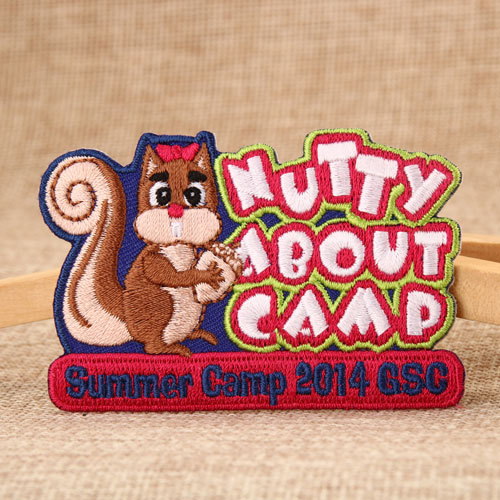 Summer Camp Embroidered Patches