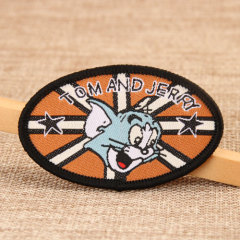 Tom and Jerry Custom Patches