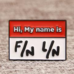 F/N L/N Lapel Pins