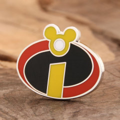 Letter I custom pins