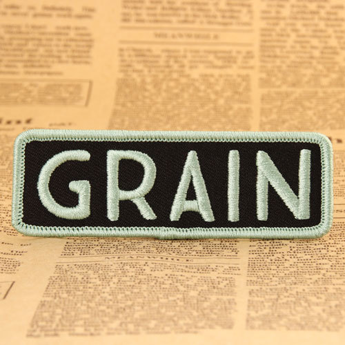 GRAIN Embroidered Patches