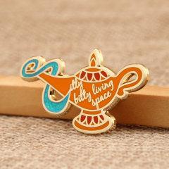 Aladdin's lamp lapel pins