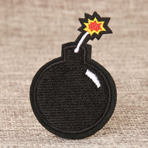 Bomb Custom Embroidered Patches