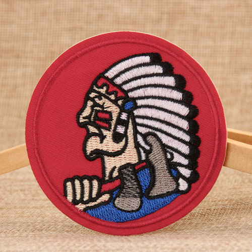 Chief Embroidered Patches