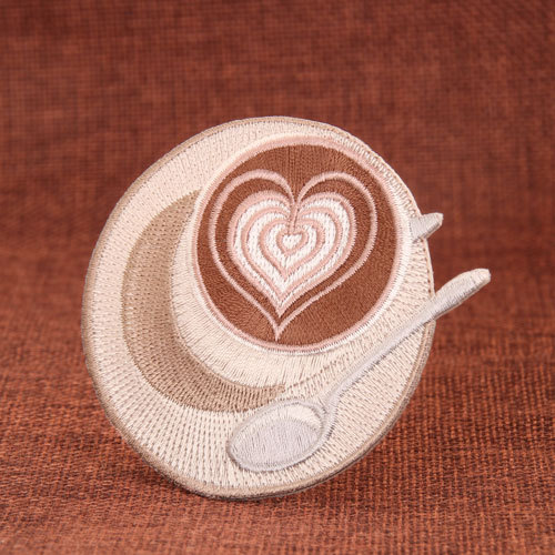 Coffee Embroidered Patches