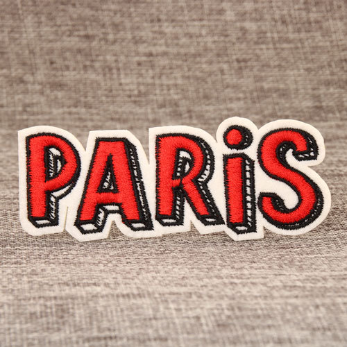 PARIS Embroidered Patches