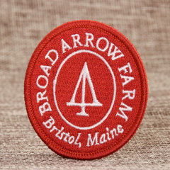 Farm Embroidered Patches