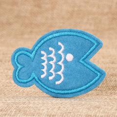 Fish Embroidered Patches