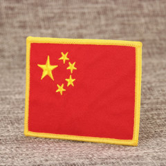 National Flag Cheap Patches