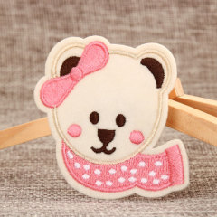 Lovely Bear Embroidered Patches