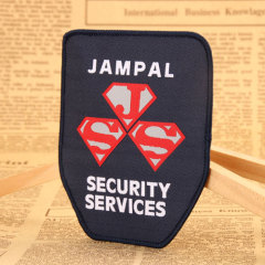 Jampal Embroidered Patches