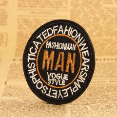 Fashion Man Custom Patches
