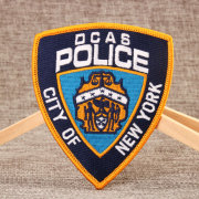 Police Embroidered Patches